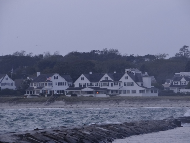 Kennedy Compound, Hyannis.  You can't go anywhere the most famous of first family's summer retreat, but from the boat the whole exterior is visible.  Great for celeb spotting.