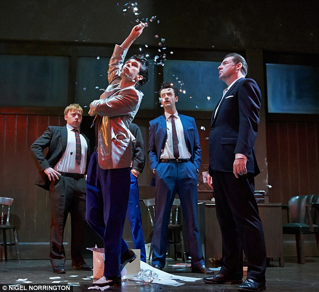 Ben Whishaw, Brendan Cole, Rupert Grint, and Daniel Mays in Mojo