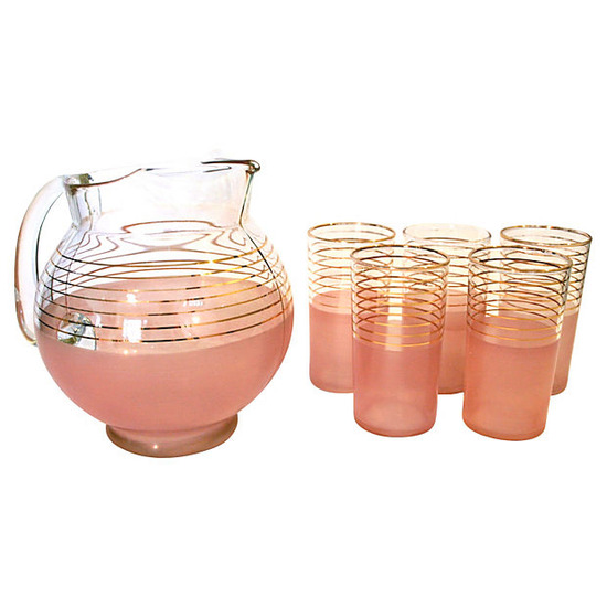 Midcentury Cocktail Set